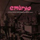 EMBRYO Live at Burg Herzberg Festival 2007 album cover