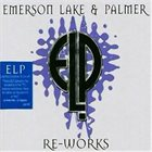 EMERSON LAKE AND PALMER Re-works album cover