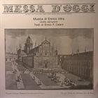 ENRICO INTRA Messa d'oggi album cover