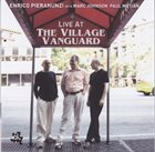ENRICO PIERANUNZI Live at The Village Vanguard album cover