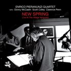 ENRICO PIERANUNZI New Spring: Live At The Village Vanguard album cover