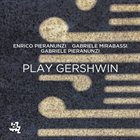ENRICO PIERANUNZI Play Gershwin album cover