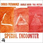 ENRICO PIERANUNZI Special Encounter (with Charlie Haden, Paul Motian) album cover