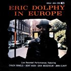 ERIC DOLPHY Eric Dolphy in Europe album cover