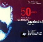 ERIC WATSON Eric Watson & Christof Lauer : 50 Jahre Hessischer Rundfunk Deutsches Jazz Festival Frankfurt 2003 album cover