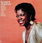 ERNESTINE ANDERSON When the Sun Goes Down album cover