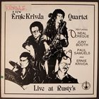 ERNIE KRIVDA Live At Rusty's album cover