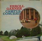 ERROLL GARNER Campus Concert album cover
