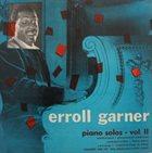 ERROLL GARNER Piano Solos Vol.2 album cover