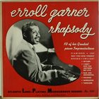 ERROLL GARNER Rhapsody – 10 of his Greatest Piano Improvisations album cover
