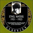 ETHEL WATERS The Chronological Classics: Ethel Waters 1921-1923 album cover
