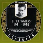 ETHEL WATERS The Chronological Classics: Ethel Waters 1931-1934 album cover