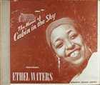 ETHEL WATERS The Music Of Cabin In The Sky album cover