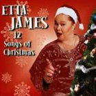 ETTA JAMES 12 Songs of Christmas album cover