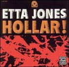 ETTA JONES Hollar! album cover