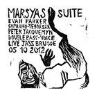 EVAN PARKER Evan Parker & Peter Jacquemyn : The Marsyas Suite album cover
