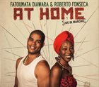 FATOUMATA DIAWARA Fatoumata Diawara & Roberto Fonseca : At Home (Live in Marciac) album cover