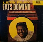 FATS DOMINO Lets Play Fats Domino album cover