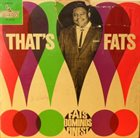 FATS DOMINO That's Fats! album cover