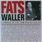 FATS WALLER Complete Victor Piano Solos album cover