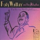 FATS WALLER I'm Gonna Sit Right Down: The Early Years (1935-1936) album cover