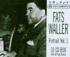 FATS WALLER Portrait, Volume 1 album cover