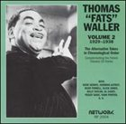 FATS WALLER The Alternative Takes in Chronological Order, Volume 2 (1929-1938) album cover