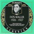 FATS WALLER The Chronological Classics: Fats Waller 1926-1927 album cover