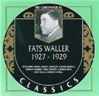 FATS WALLER The Chronological Classics: Fats Waller 1927-1929 album cover