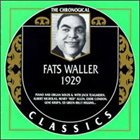 FATS WALLER The Chronological Classics: Fats Waller 1929 album cover