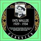 FATS WALLER The Chronological Classics: Fats Waller 1929-1934 album cover