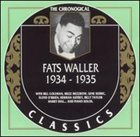 FATS WALLER The Chronological Classics: Fats Waller 1934-1935 album cover