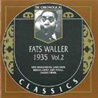 FATS WALLER The Chronological Classics: Fats Waller 1935, Volume 2 album cover