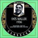 FATS WALLER The Chronological Classics: Fats Waller 1936 album cover
