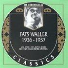 FATS WALLER The Chronological Classics: Fats Waller 1936-1937 album cover