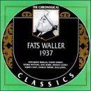 FATS WALLER The Chronological Classics: Fats Waller 1937 album cover