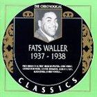 FATS WALLER The Chronological Classics: Fats Waller 1937-1938 album cover