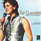 FAY CLAASSEN With A Song In My Heart album cover
