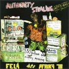 FELA KUTI Authority Stealing album cover