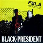 FELA KUTI Black President album cover