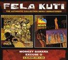 FELA KUTI Monkey Banana / Excuse O album cover