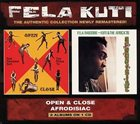 FELA KUTI Open & Close / Afrodisiac (feat. The Africa '70) album cover