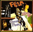 FELA KUTI Opposite People / Sorrow Tears and Blood album cover
