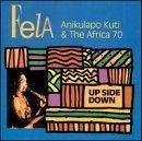 FELA KUTI Up Side Down album cover