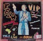 FELA KUTI V.I.P. (Vagabonds in Power) album cover