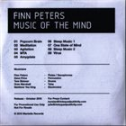 FINN PETERS Music Of The Mind album cover
