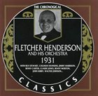 FLETCHER HENDERSON Fletcher Henderson And His Orchestra - 1931 album cover