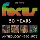 FOCUS 50 Years Anthology 1970-1976 album cover