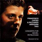 FRANCESCO CAFISO Concert for Michel Petrucciani album cover