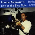 FRANCO AMBROSETTI Live At The Blue Note album cover